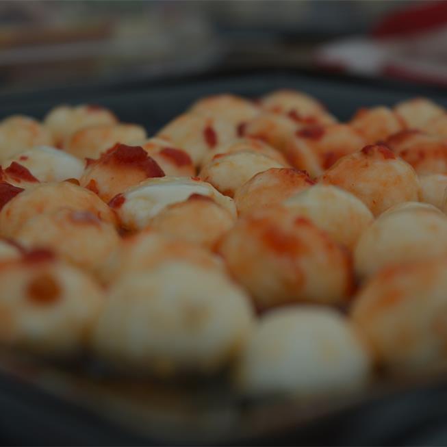Mozzarella cu dulceață, gata în 5 minute